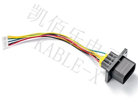 新能源汽车压缩机线束