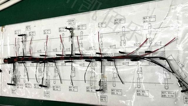 凯佰乐线束加工过程