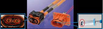 连接器采用高压互锁