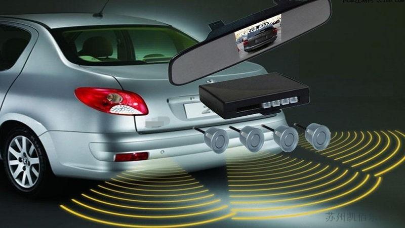 雷达倒车影像线束的应用