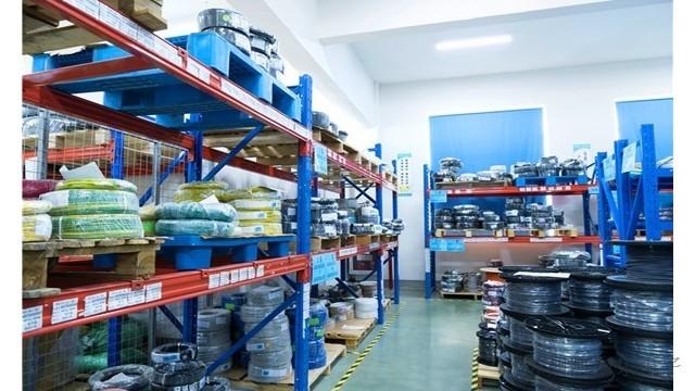 线束加工厂的仓库