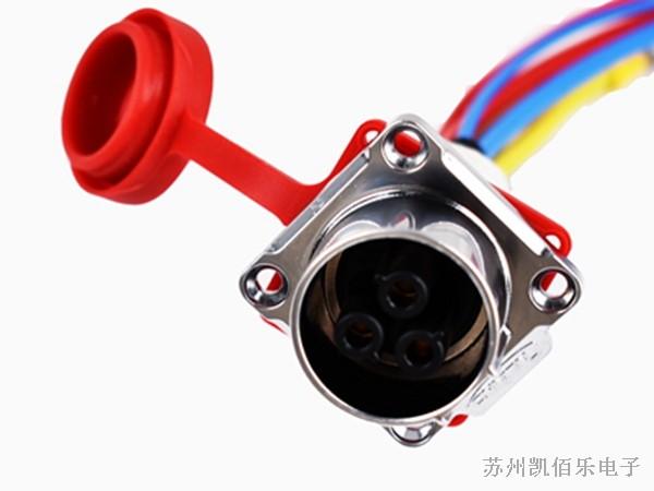 激光焊接设备线束-航空插头线束细节