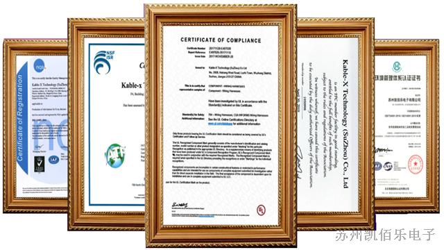 认证资质品质保障