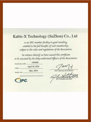 工业线束IPC620认证