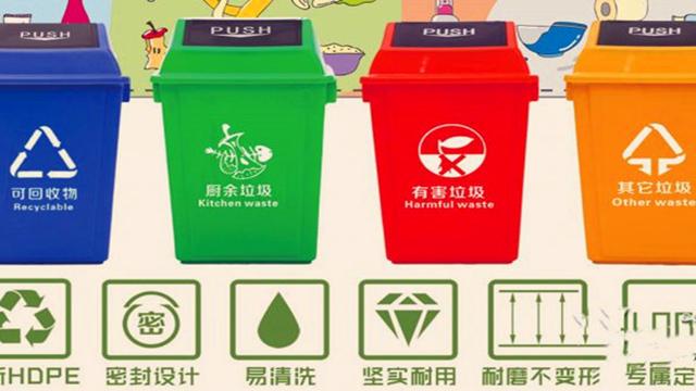 垃圾分类是一种习惯,今天分一分,明天美十分