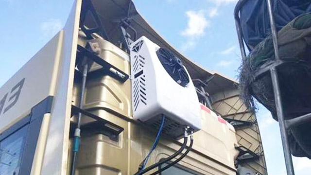 卡车空调应用案例