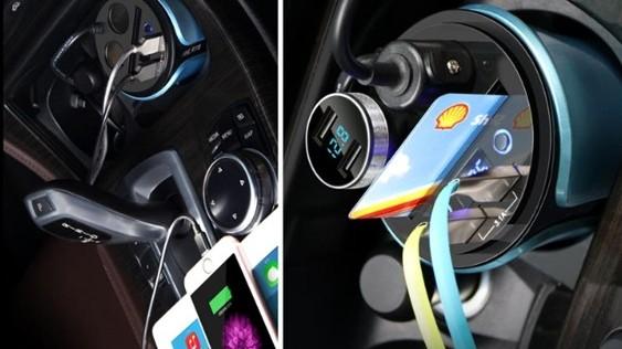 汽车车载充电线应用案例