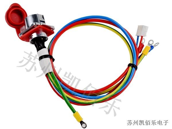 激光焊接线束-航空插头线束