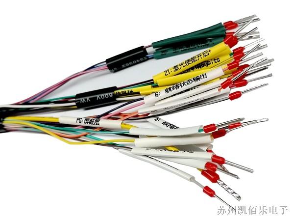 激光切割设备线束-DB线束细节展示