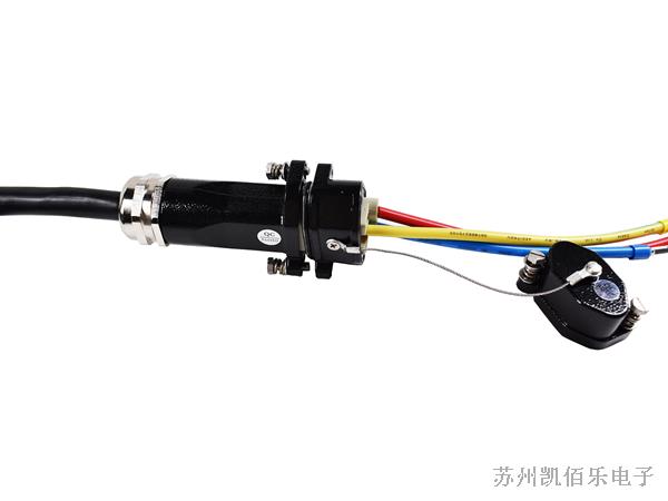 激光打标机-航空插头线束展示